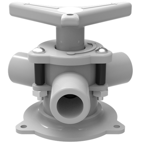 "Sea-lect® YV-094D-B ""Easy-Turning"" Base Mount Y-Valve"